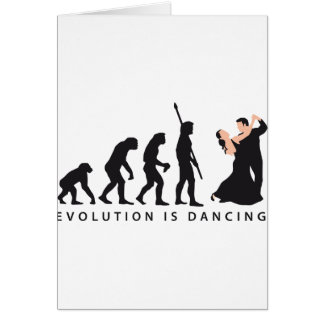 evolution dancing couple karte