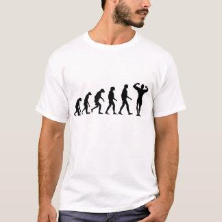Evolution der Bodybuilding T-Shirt