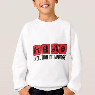 Evolution der Heirat Sweatshirt