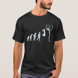 Evolution des Basketballs T-Shirt