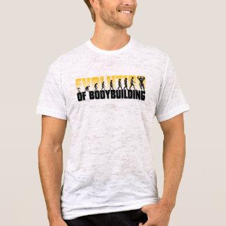 Evolution des Bodybuilding gebrannten Shirts
