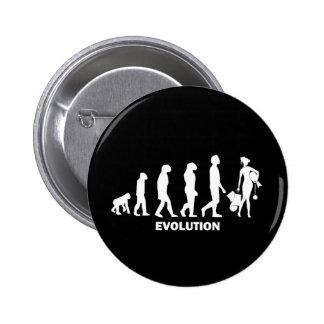 Evolution des Einkaufens Runder Button 5,7 Cm
