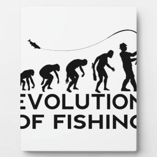 Evolution des Fischens Fotoplatte