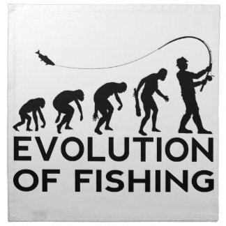 Evolution des Fischens Serviette