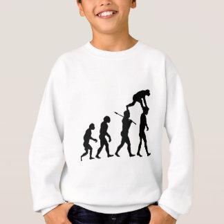 Evolution des Mannes Sweatshirt