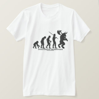 Evolution des MInotaur T-Shirt