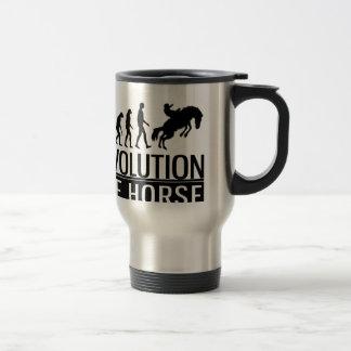 Evolution des Pferds Reisebecher