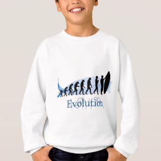 Evolution des Surfens Sweatshirt