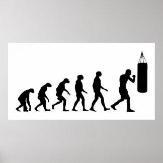 Evolution des Verpackens Poster