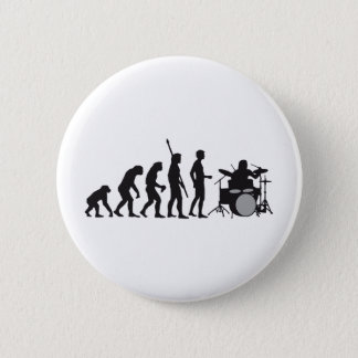 evolution drummer runder button 5,7 cm