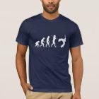 Evolution eines Gitarren-Spielers T-Shirt