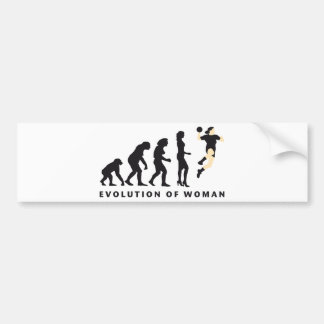 evolution female handball autoaufkleber