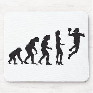 evolution female handball mauspad