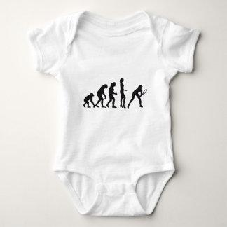 evolution female tennis baby strampler