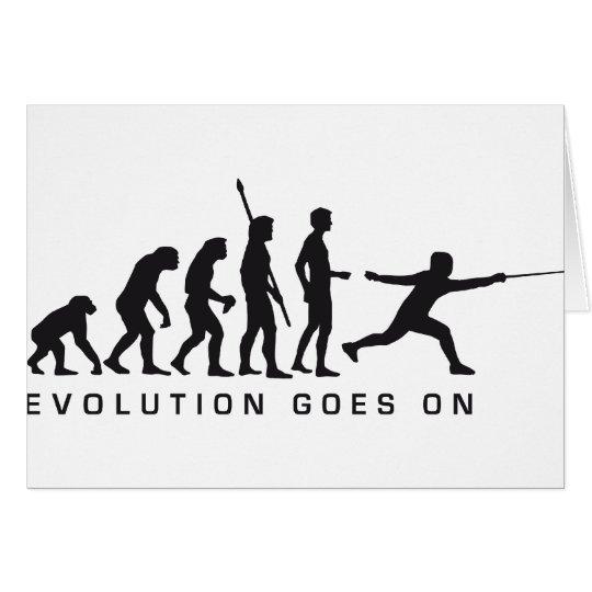 evolution fencer karte