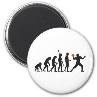 evolution football runder magnet 5,1 cm