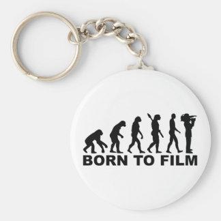 Evolution geboren zu filmen schlüsselanhänger