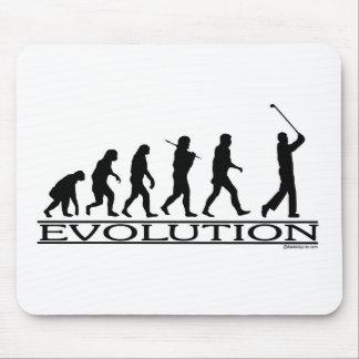 Evolution - Golf - Mann Mousepads