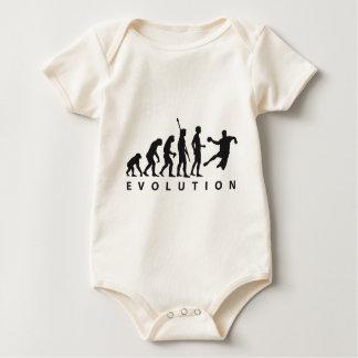 evolution handball baby strampler