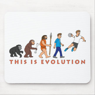 Evolution Handball Comic Style Mousepads