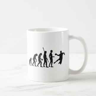 evolution handball kaffeetasse