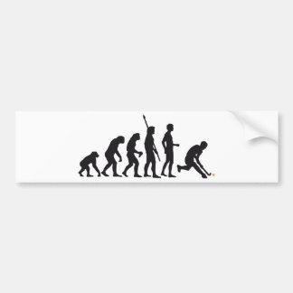 evolution hockey autoaufkleber