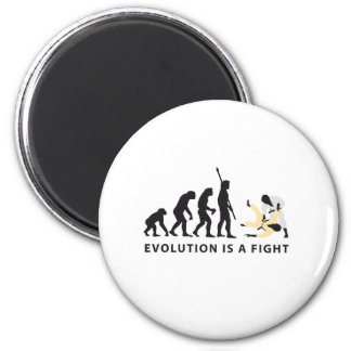evolution Judo Runder Magnet 5,7 Cm