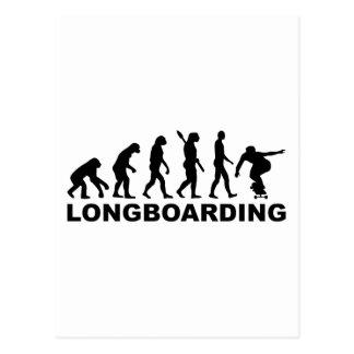 Evolution Longboarding Postkarte