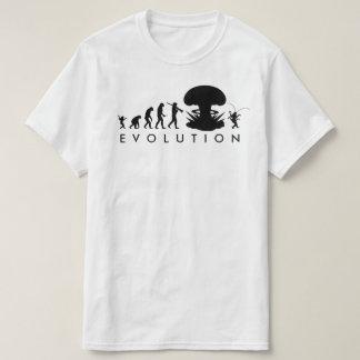 Evolution Mann-u. Schaben-des lustigen T-Shirt