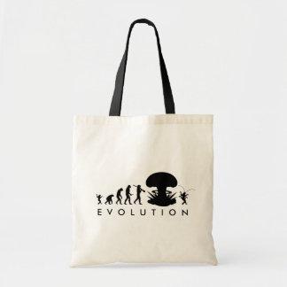 Evolution Mann-u. Schaben-des lustigen Tragetasche