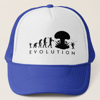 Evolution Mann-u. Schaben-des lustigen Truckerkappe