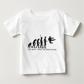 evolution martial arts baby t-shirt