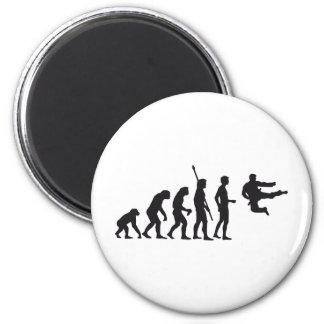 evolution martial arts runder magnet 5,1 cm