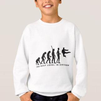 evolution martial arts sweatshirt