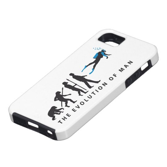 evolution of man diving sport iPhone 5 cover