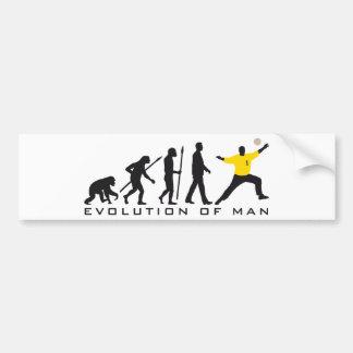 evolution of man handball goal keeper autoaufkleber