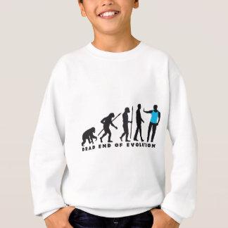 evolution of man security doorman sweatshirt