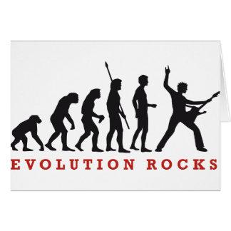 evolution rocks karte