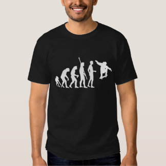 evolution skateboard t-shirt