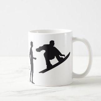 evolution snowboard tasse
