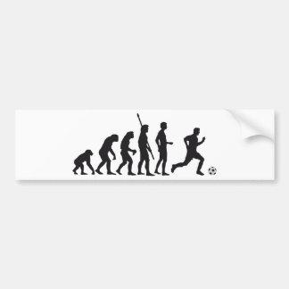 evolution soccer autoaufkleber
