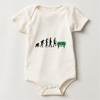 evolution table tennis baby strampler