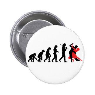 Evolution - Tanzen Anstecknadel