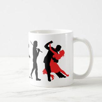 Evolution - Tanzen Kaffeetasse