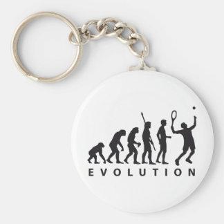 evolution tennis schlüsselanhänger