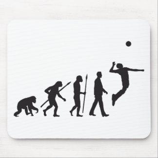 evolution volleyball player mauspads