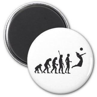 evolution volleyball runder magnet 5,7 cm