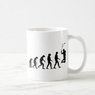 Evolution von Badminton Kaffeetasse
