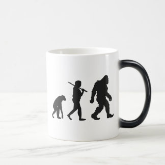 Evolution von Bigfoot Verwandlungstasse