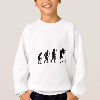 Evolution von Fotografie Sweatshirt